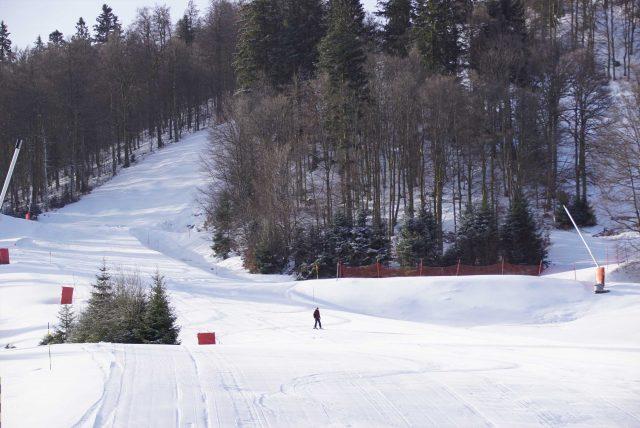 domaine piste ski alpin snowboard lispach la bresse vosges