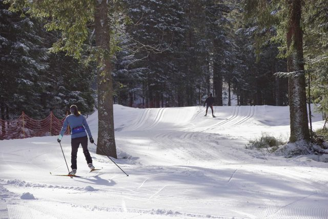 domaine piste ski fond skating lispach nordique la bresse vosges