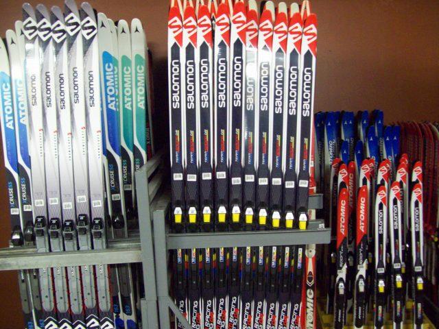 Skis de fond classique