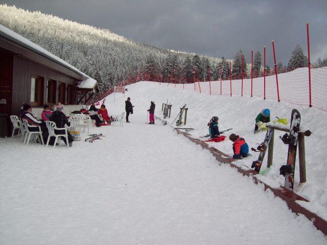 terrasse ski lispach la bersse vosges