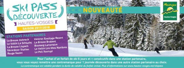 ski pass découverte hautes-vosges